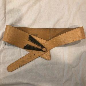 🌿vintage leather belt